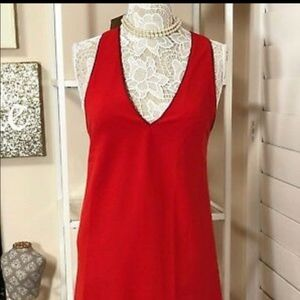 Alice + Olivia Red Dress size small
